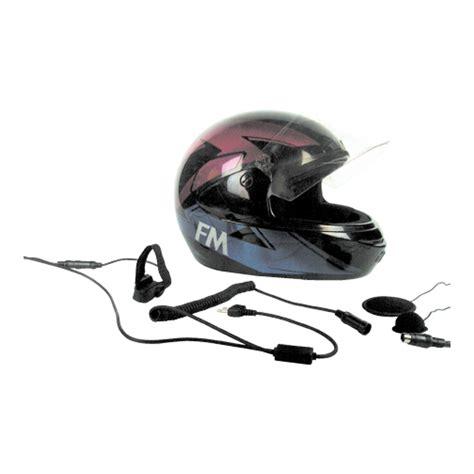 Motorradhelm Mit Lautsprecher by Motorcycle Helmet Speaker And Microphone Kit Intercom