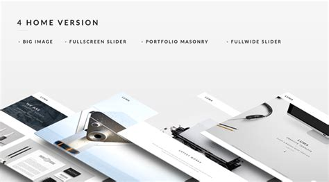 Teslathemes Montblanc Multi Purpose Creative Theme luma creative multi purpose template distinctive themes