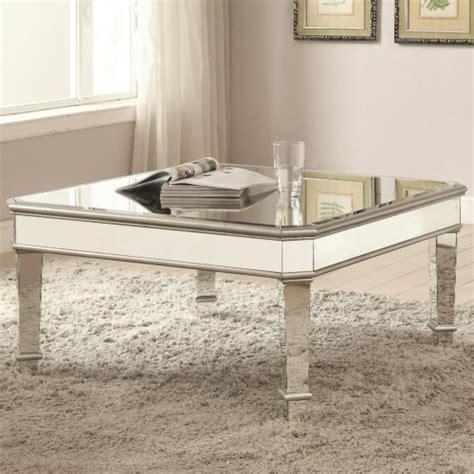 coaster furniture coffee table coaster 70393 mirrored coffee table coaster furniture