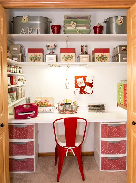 Craft Room Closet Storage Ideas by Welcome To Studio Contributor Team