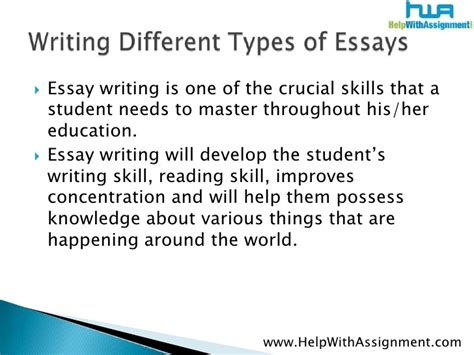 different kinds of essay harry potter essay psychology character
