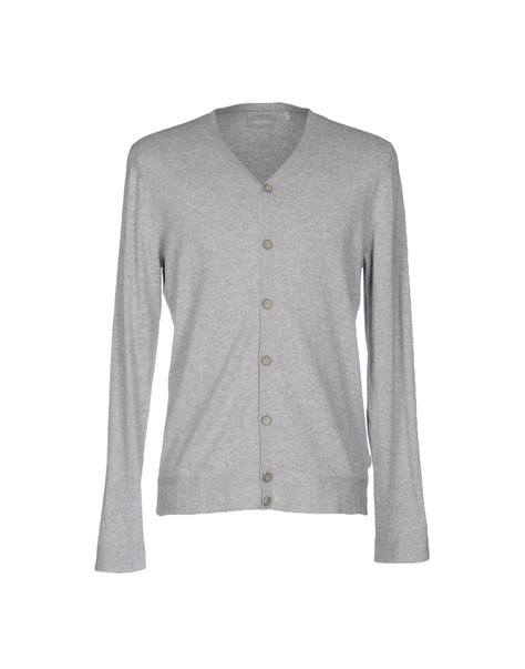 Od Jaket Sweater Hoodie Silver Hitam calvin klein cardigan in gray for lyst