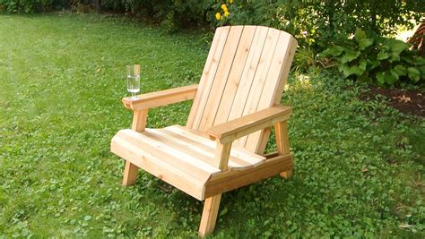 How To Make A Wooden Chair by Building A Lawn Chair Edit