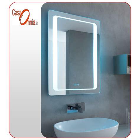 Bluetooth Mirror Bathroom Bath Led Mirror Clock Bluetooth V C Aquila Casaomnia