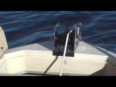boat anchor adelaide micks winch www mickswinch au youtube