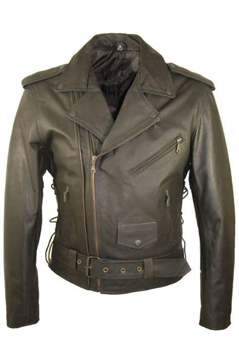 Jas Motor leather palace leren motor jas heren