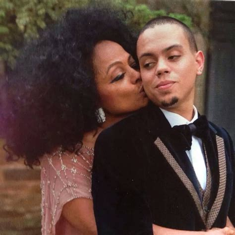 evan ross home diana ross and her son evan on his wedding day in