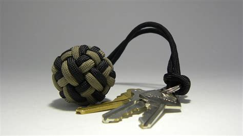 Unique Bookcase Paracord Monkey Fist Crafts Clues To Learn