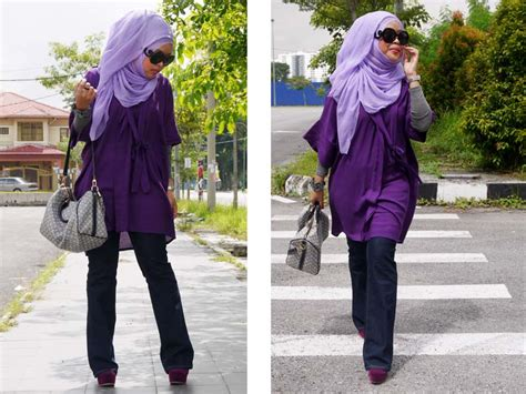 Segiempat Scarf Hijabhan Originak modest maxi dress style hijabiworld