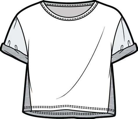 T Shirt Flat Sketches by 265 Best F L A T S Images On Fashion