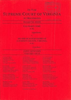 Loudoun Court Records Virginia Supreme Court Records Volume 269 Virginia Supreme Court Records