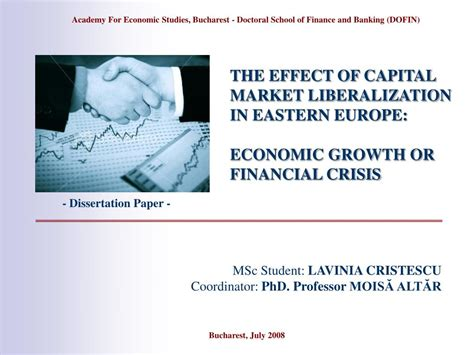 Financial Crisis In Europe Essay by Ppt The Effect Of Capital Market Liberalization In Eastern Europe Economic Growth Or