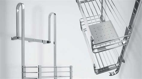 accessori doccia design portaoggetti doccia in acciaio inox a e vicenza