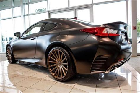 lexus rc 350 matte black pics rc f sport stock or aftermarket from dealer