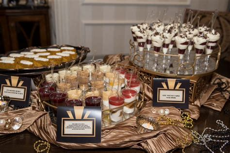 great gatsby themed food great gatsby desserts kaitlin s sweet 16 gatsby party