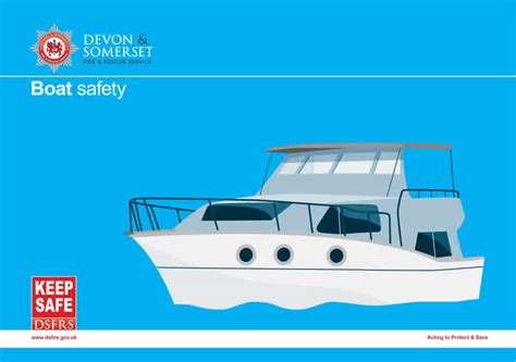 boat safety week uk firefighters visit boat owners during boat safety week 25