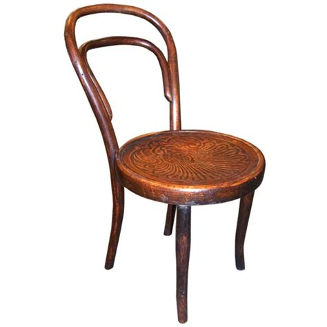 Vintage Bentwood Chairs by Antique Child S Bentwood Chair At 1stdibs