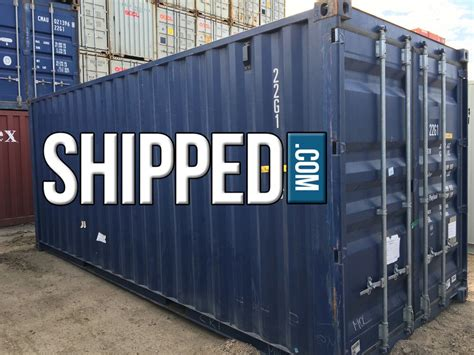 ft steel shipping container  deliver secure home