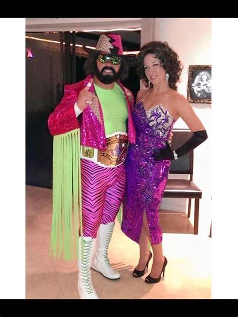 macho man randy savage  elizabeth costume halloween