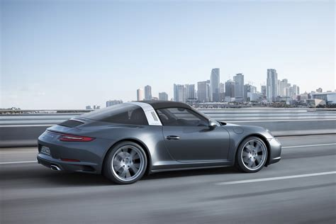porsche targa new porsche 991 2 carrera 4 and targa 4 unveiled total 911