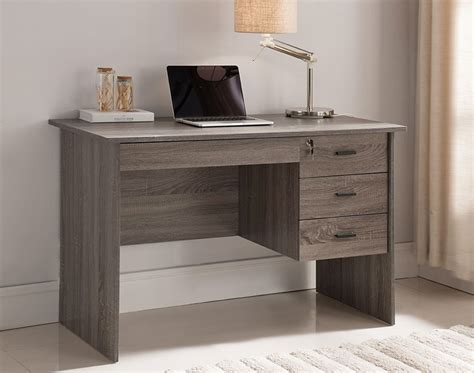 grey desk with hutch rustic computer desk rustic office desk furniture home