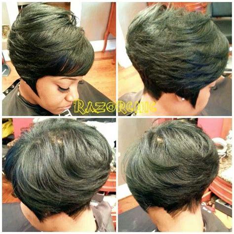 razor bob haircut african american razor cut bob hair pinterest razor cut bob razor