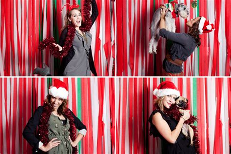 christmas photo booth ideas the d i y roundup a beautiful mess