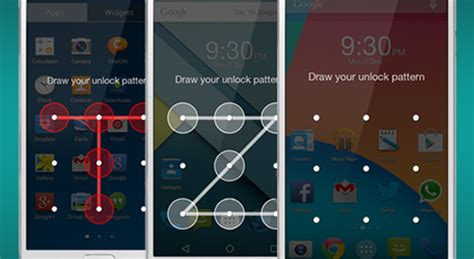 pattern keypad lock for android pattern lock on your android phone can be cracked in just