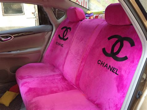 pink plush seat covers buy wholesale classic chanel universal plush velvet auto