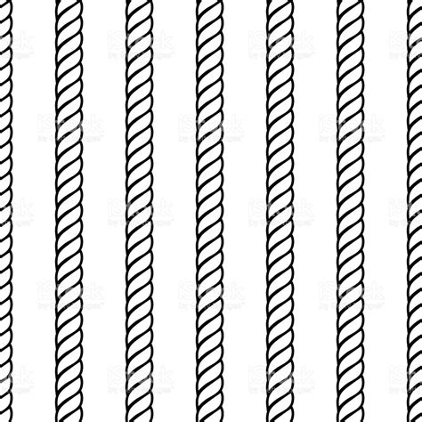 svg rope pattern rope rows seamless background pattern stock vector art