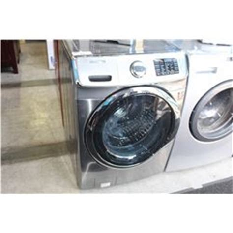 samsung grey and stainless speed steam vrt front load washer able auctions