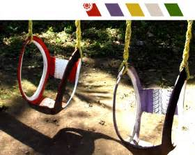 Swings For Patio Tutorial Columpios Hechos Con Llantas Viejas Live Colorful