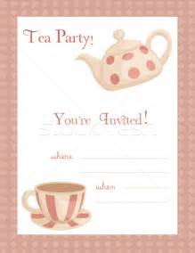 9 best images of free printable tea flyers tea invitation template tea