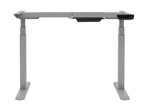 sit stand dual motor height adjustable desk frame monoprice sit st dual motor height adjustable table desk