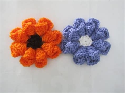 crochet layered flower pattern youtube how to crochet a flower pattern 2 by thepatternfamily