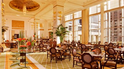 Tea Room Chicago afternoon tea in chicago the lobby restaurant at the