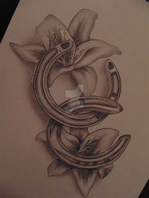 horseshoe tattoo design by 3nviixx on deviantart