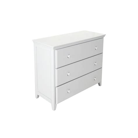 White Three Drawer Dresser by 3 Drawer Dresser White Jackpot