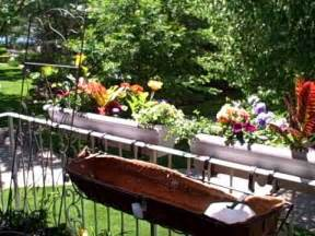 how to hang planters on balcony patio railings