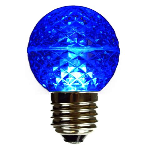 Led Blue Light Bulb Blue Led Globe Light Bulb