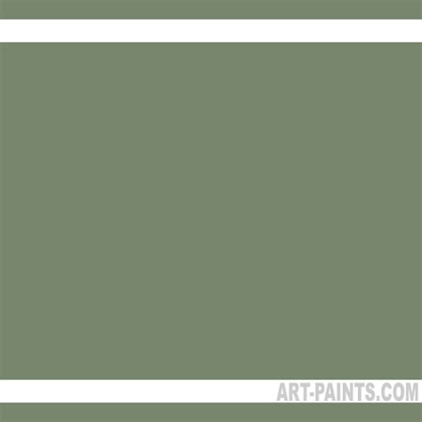 Grey Green Paint Color | british interior grey green model metal paints and