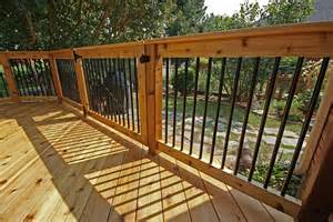 Aluminum Railing Balusters Use Deck Balusters That Fit Your Decking Well Decorifusta