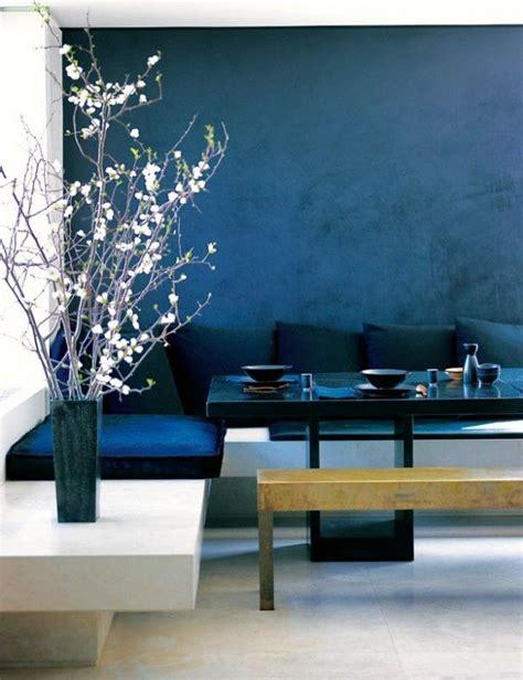 Decke Blau Streichen by Wand Streichen In Farbpalette Der Wandfarbe Blau Blaue