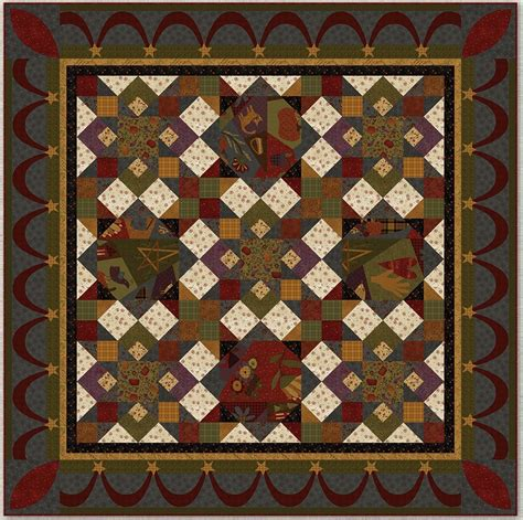 Autumn Quilt Kits by Autumn Song Quilt 1 Kit