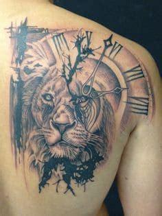 lion tattoo  represent symbolism