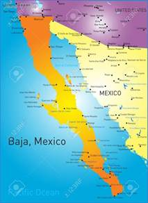 california map mexico maps of baja california mexico toursmaps