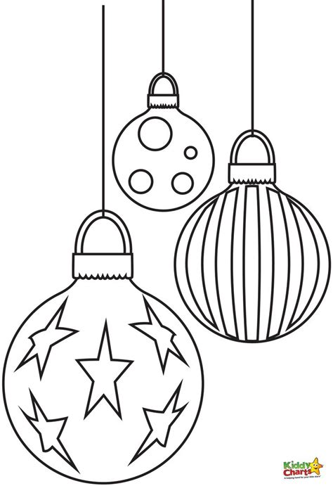 colour in baubles 25 unique free coloring pages ideas on