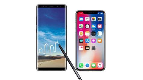 Harga Samsung Iphone X kemuan layar iphone x terbukti kalahkan galaxy note 8