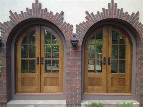 Arched Front Entry Doors Custom Arched Quarter Sawn White Oak Entry Doors By Huisman Concepts Custommade