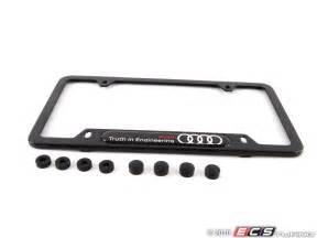 Audi License Plate Frame Audi B7 Rs4 V8 8k0071801b Carbon Fiber License Plate